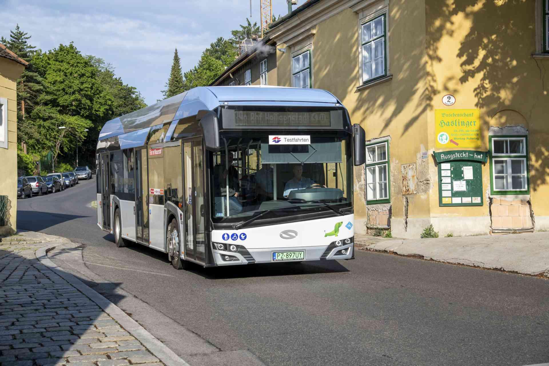 Bus Linie 39A Wasserstoff-Versuchsbus