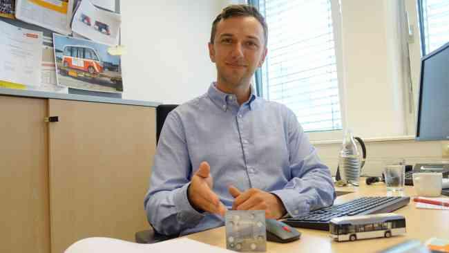 Johannes Liebermann Wasserstoffbus Interview