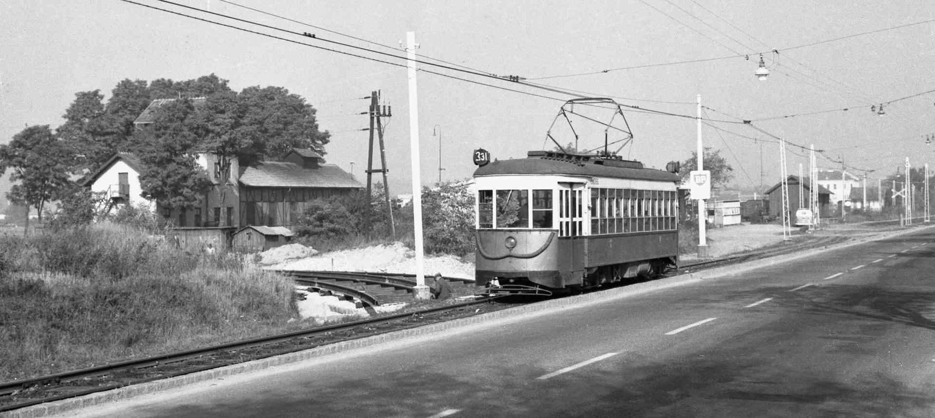 Amerikaner Straßenbahn